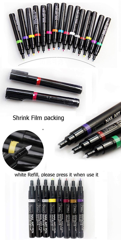 Nail Polish Pens Set - Creative Touch