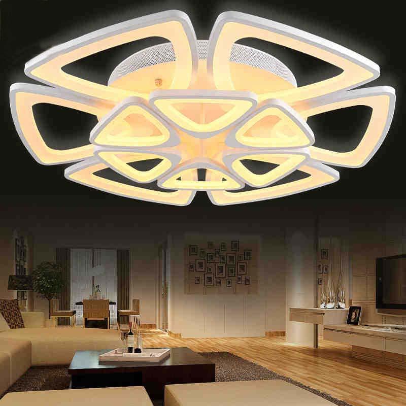 luces de la sala dormitorio cocina luz de techo moderna luminaria lamparas de techo montaje empotrado