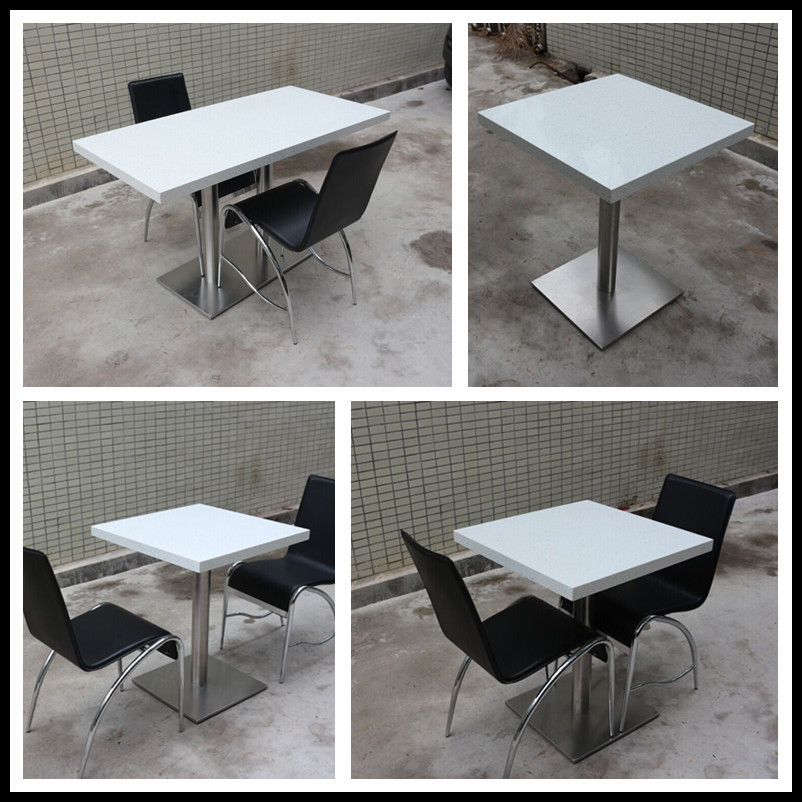 Superb Cheap Restaurant Tables Chairs / Cafe Table Chair Set / Fast Food Furniture