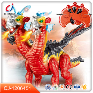 New design plastic kids rc robot dinosaur toys