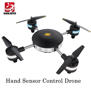 Wind Resistance Gesture Sensing Control Drone Smart Hand Gesture Sensor Control Gravity Drone Intelligent Hovering SJY-W606-20