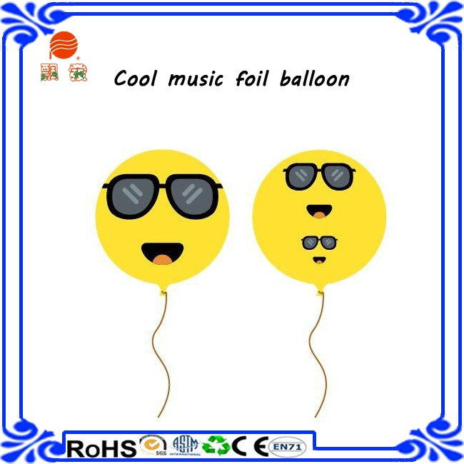 27 inch musical note foil balloon cheap balloon in stock