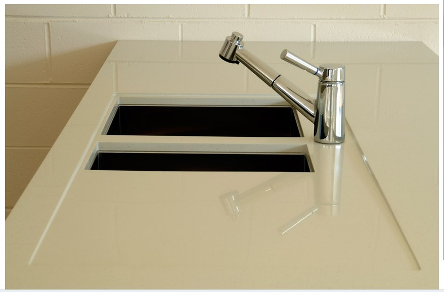 Factory Direct Sales All Kinds Of one piece bathroom countertop with sink