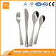 New design !Stainless steel cutlery 4pcs kids cutlery set knife fork spoon