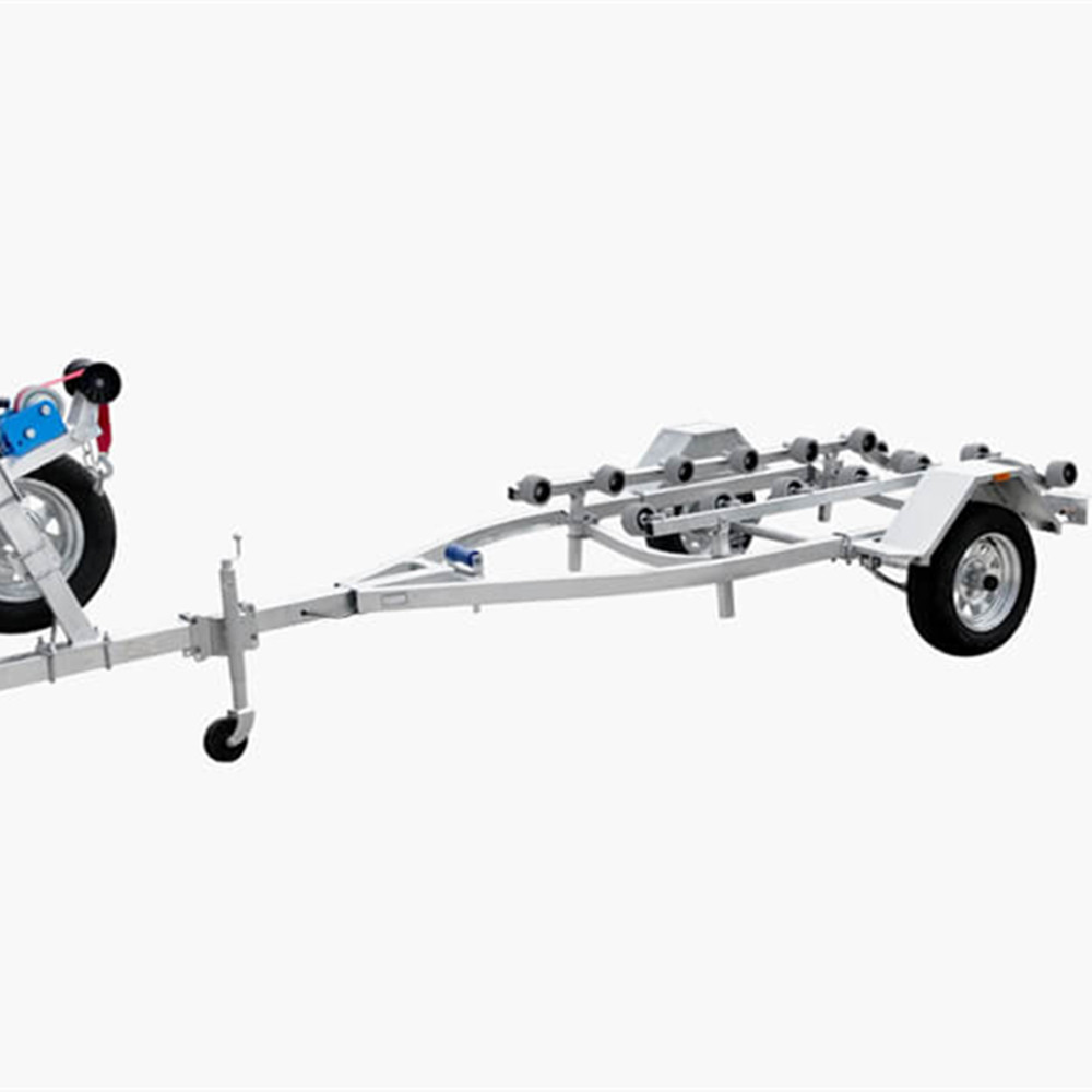 Verkauf von Ecocampor Hot Dipped Custom Galvanized Double Axle Jet Ski Boat Trailer