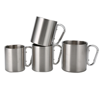 High quality portable outdoor stainless steel cup thick stainless steel