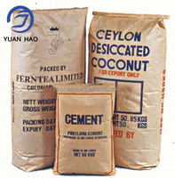 10KGS 20kgs 25kgs 50kgs Industrial Valve Craft Paper Bags for Cement Food Feed Stuff