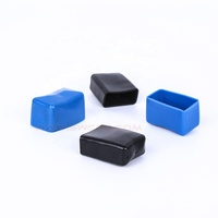 Square or circle rubber end caps for Square Tube