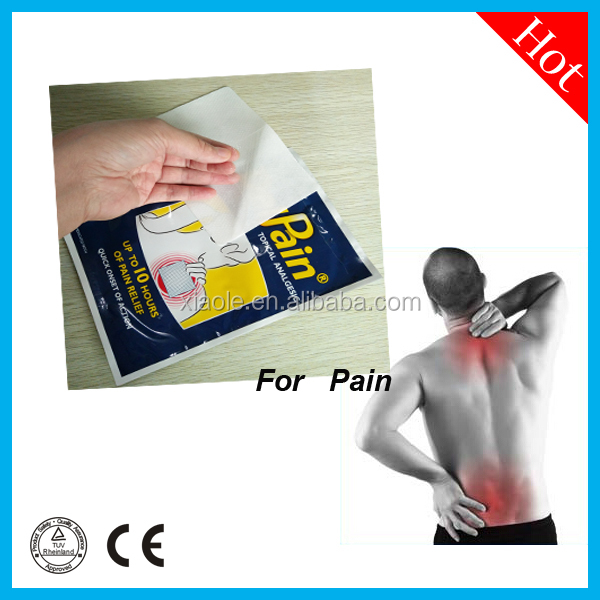 Chinese pure herbal extration cold & hot pain relief packs