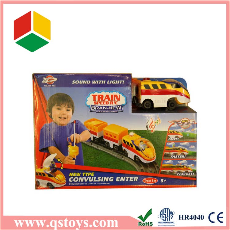 Hot Selling remote control creative familial train toy with EN71