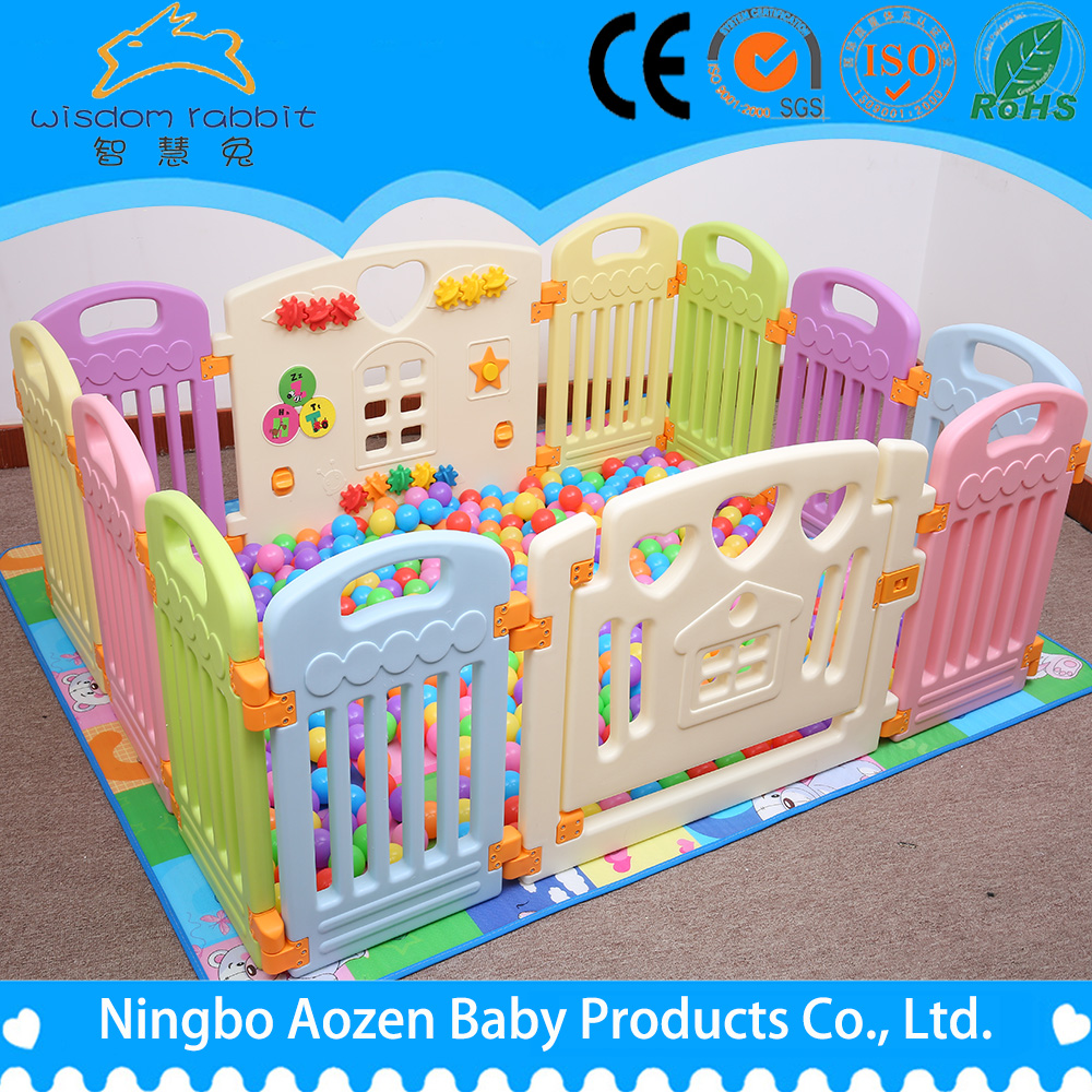 Top Manufacturer Wholesale Kids Play Area Plastic Baby Game Fence