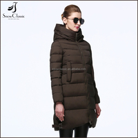 2017 new winter women coats long section Slim down jacket cotton jacket thickening women