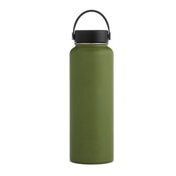 Amazon Hot Sales Stainless Steel Water Bottle Thermos Vacuum Flask Insulated For Travel Sports Camping Custom Laser Logo Engrave