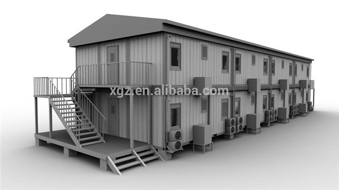 prefab habitable 20ft container home
