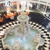 Jaipur Five Star Hotel project Chinese white marble water fountain with figure statue for sale
