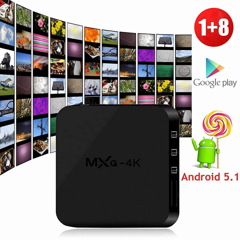 Buy YESER MXQ-4K Android TV BOX + Mini Gaming Keyboard RK3229 Quad