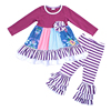 Children Clothes New Design Little Baby Girls Clothing Ooutfits Boutique Ruffle Clothing