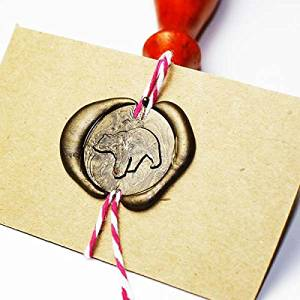 Bear Wax Seal Stamp, Seal Stamp, Sealing Stamp Set, Seal Wax Stamp, Wax Seal, 25mm Initial Sealing Stamp