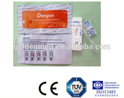 Antigen and IgG/IgM Duo Panel dengue igg/igm/ns1 test with Rohs
