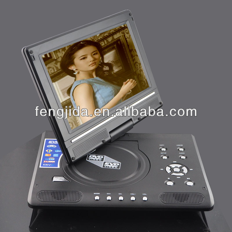 9'' dvd player mini usb dvd player oem dvd player with tv tuner
