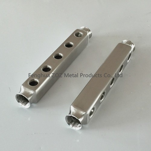 Port stainless steel underfloor heating manifold