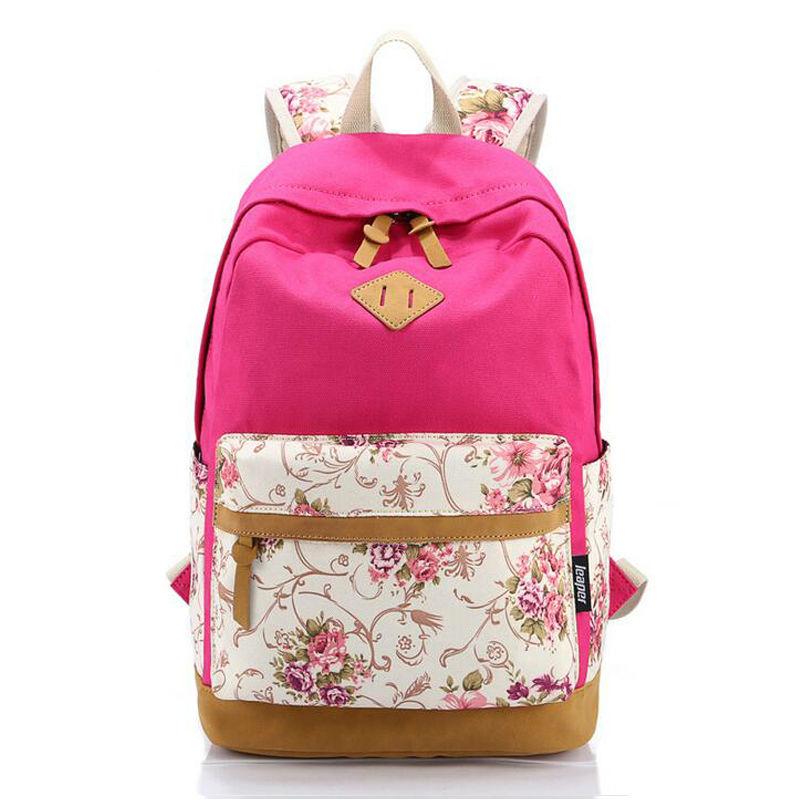7b7c3431da2c Vintage Canvas Backpack Nation Wind Rucksack Backpacks Girls Female Mochila  Escolar Printing Shoulder School Bags Bookbags