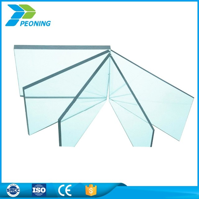 Crystal clear polycarbonate greenhouse roof panel siding