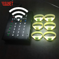 SUNJET Best Selling Item 2019 Innovative Party or Event Items Wholesale Led Light Bracelet
