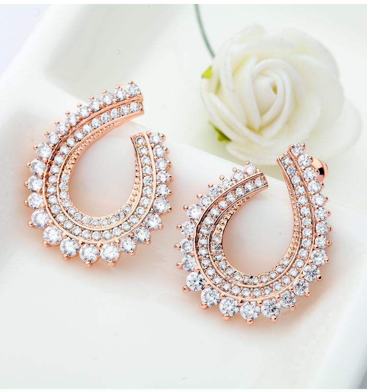 Luoteemi Design Jewelry Women S Cheap Shining Fashion Rose