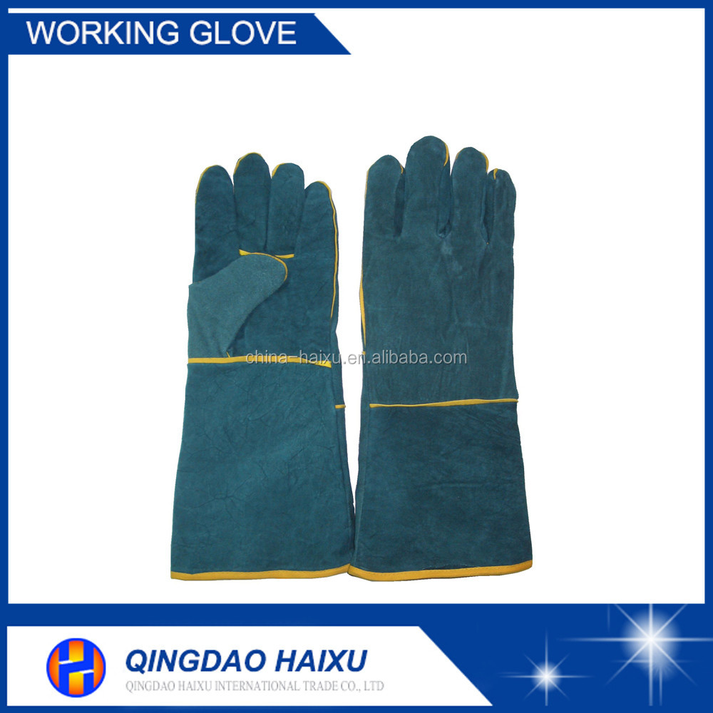 Durable Industrial Leather Hand Gloves Manufacturer