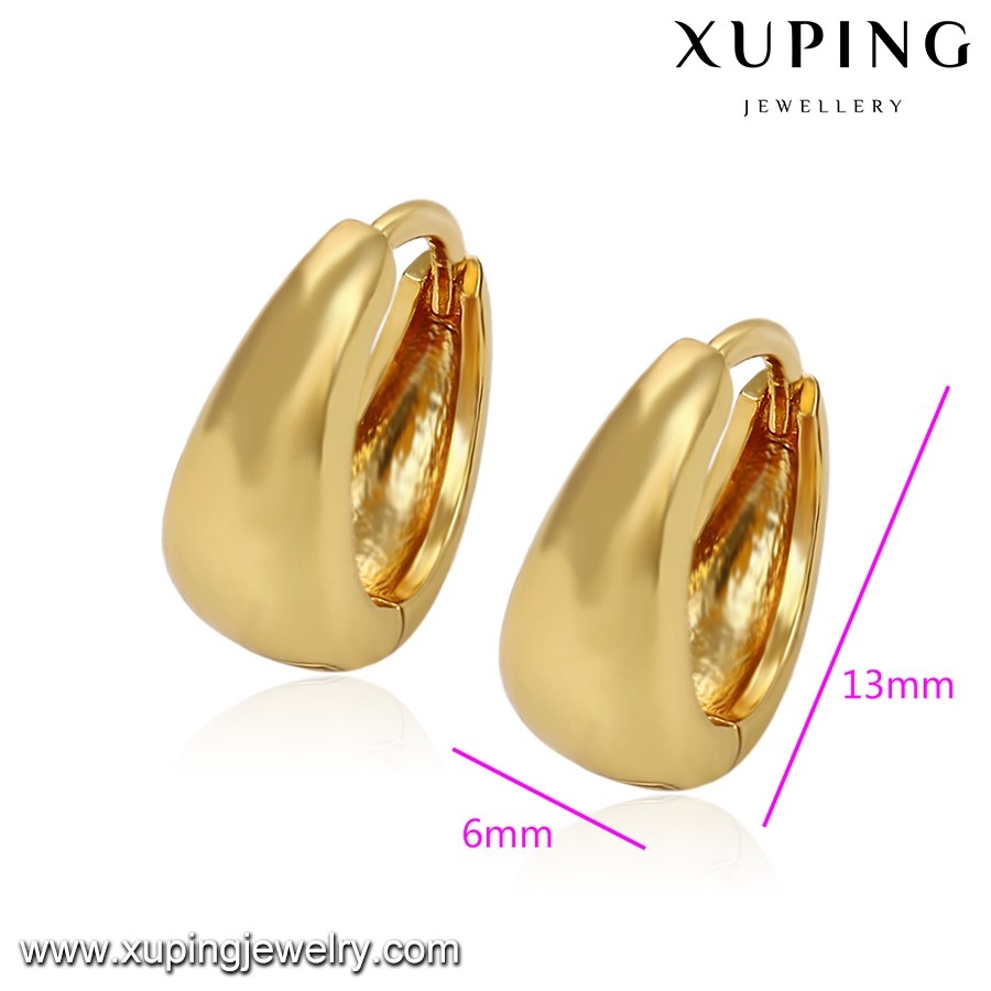 92162 Xuping 3 Gram Gold Beautiful Designed Earring,14k Gold Color ...