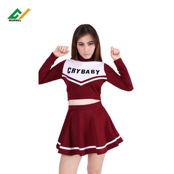 f34dfe7370d Personalized long sleeves wholesale cheer dance dress custom cheerleading  uniforms