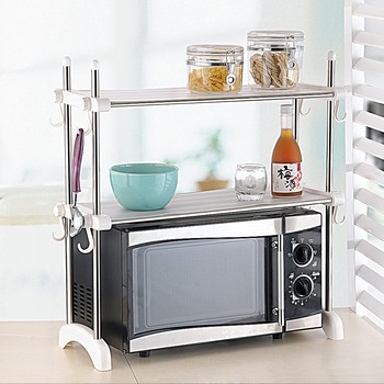 Metal Microwave Oven Grill Shelf Rack Buy Microwave Oven Shelf