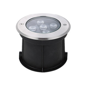 stainless steel pool underground mini puck uplight 3w ip67 waterproof led ring light