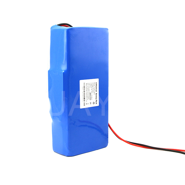 Customized 10S24P icr 18650 li-ion 36v 60ah lifepo4 electric bike battery