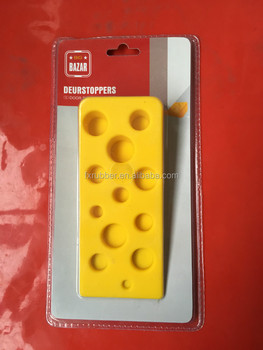 Whole Cute Silicone Rubber Cheese Cabinet Door Stoppers Oem Manufactured Doorstops