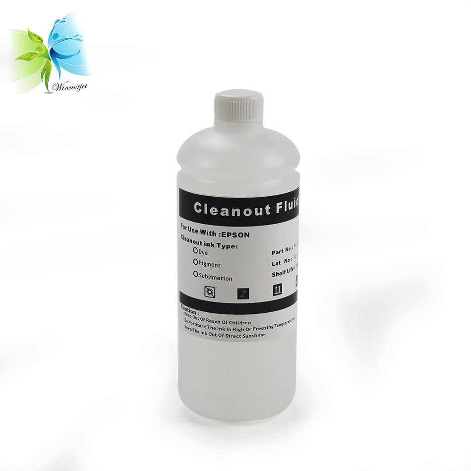 Specialized Cleaning solution / fluid / LED / mercury for uv ink