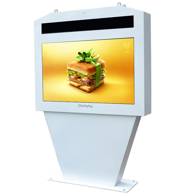 Outdoor microsoft oppervlak circulaire lcd touch screen monitor