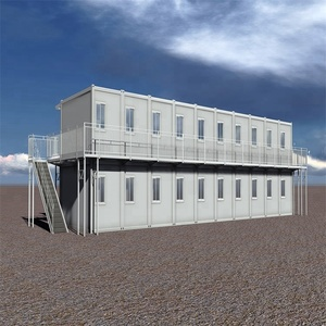 Customized Prefabricated Steel Houses Prefab Kits Mobile Home