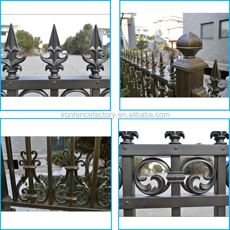 Made In China Cheap Aluminum Fence/cattle Fence/philippines Gates ...