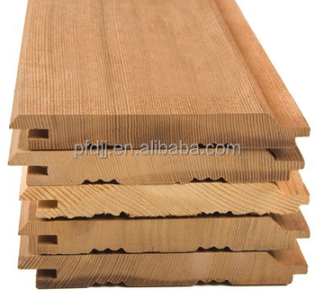 Exterior Red Cedar Wall Panel Tongue And Groove For Sauna Grooved Wood Paneling Walls High Quality