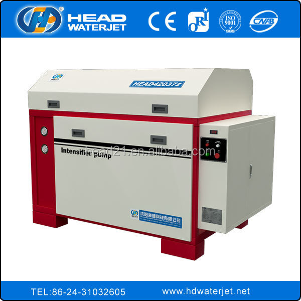 380Mpa 420Mpa high pressure pump water jet marble CNC cutting machine ceramic tile cut