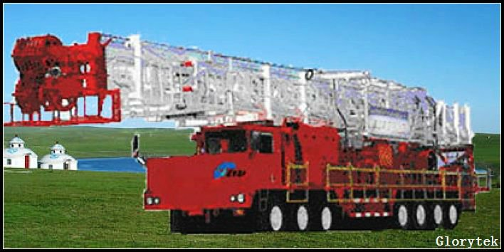 ZJ30 truck mounted oil drilling rig