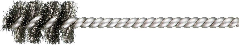 """PFERD 83395 SpyraKleen Tube Brush, Single Stem/Spiral, .005"""", Stainless Steel Wire (INOX), 5/8"""" Diameter, 5/32"""" Stem, 1"""" Brush Part Length (Pack of 36)"""