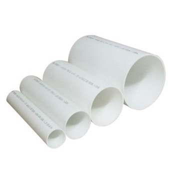 4 Inch Sewer Pipe Price Round Pvc Drain Pipe For Indoor Material