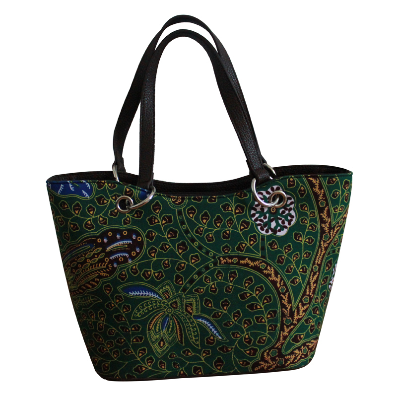 Free shipping!2015 new design!Hot sale!High quality hobos bag.African wax print fabric handbag.Classic design,fashion choice