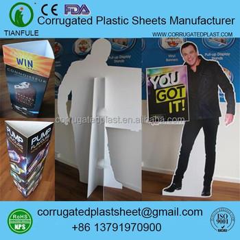 Pp Coroplast Display Stand Buy Coroplast Display Stand