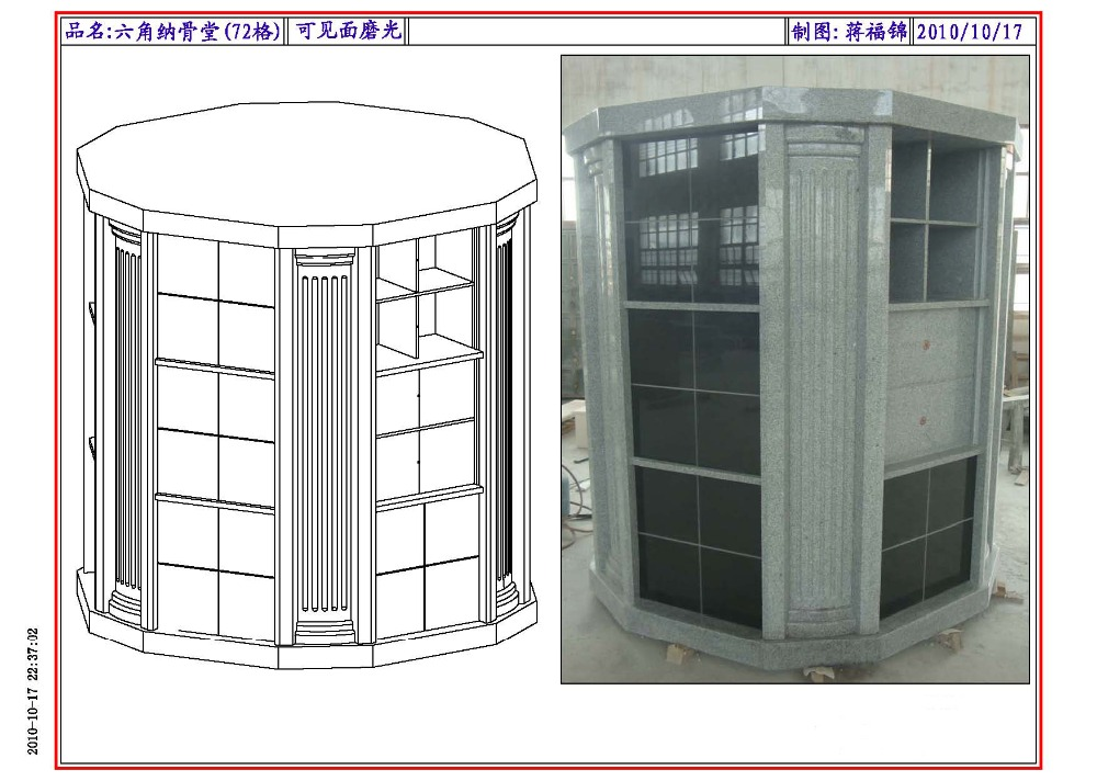 Grey Granite Columbarium 36 Niche Buy Columbarium