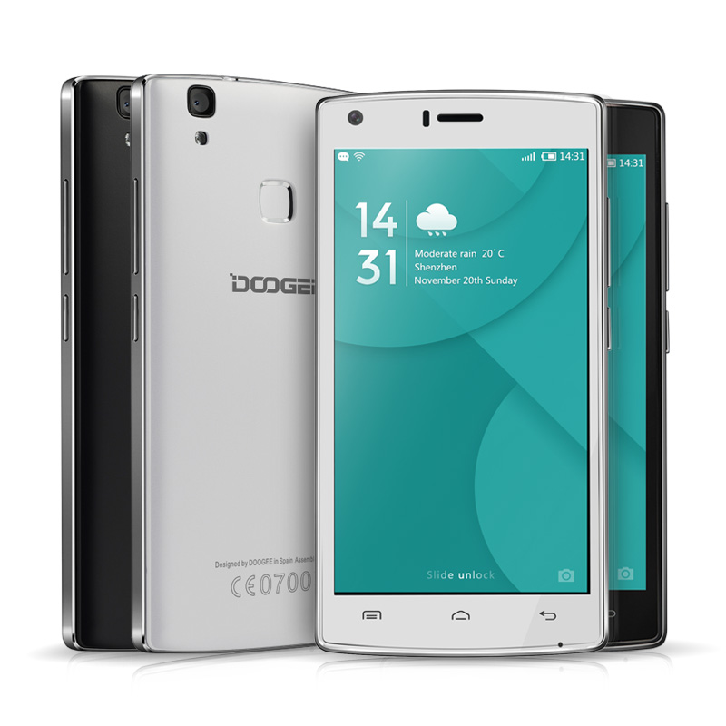 Doogee X5 <strong>MAX</strong> Pro Fingerprint Mobile Phones MT6737 Quad Core 1.3GHz 5.0 Inch HD 2GB RAM16GB ROM Android6.0 Smartphones