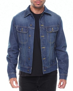 Royal wolf denim jacket manufacturer blue vintage washed jeans jacket mans track jacket